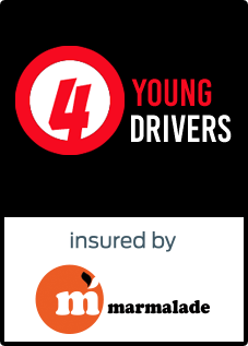 4 Young Drivers. Insured by Marmalade